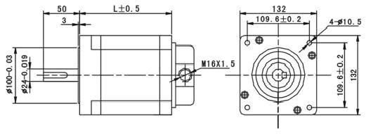 三相混合式步进电机现在内部都已经是三角形接法