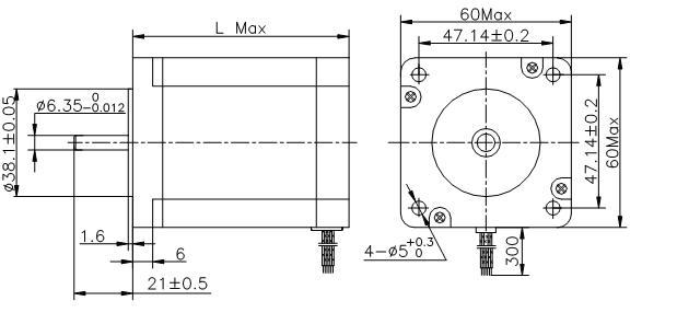 二相电机内部结构图